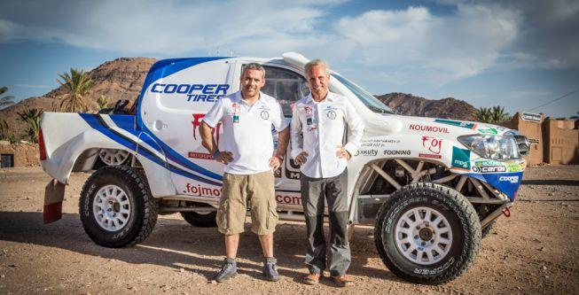 """Foj: """"Acabar el veintitantos en el Dakar sería un éxito rotundo"""" - AS"""