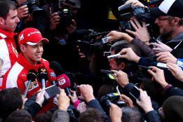 """Vettel: """"Es demasiado pronto para valorar el nuevo Ferrari"""""""
