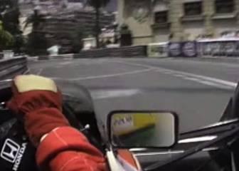 Senna y Mónaco: así era una vuelta a bordo de su McLaren