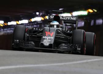 Alonso muestra el camino a McLaren Honda en Mónaco
