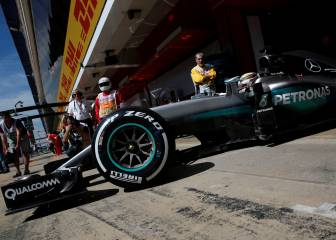 Mercedes y su truco con los neumáticos, al descubierto