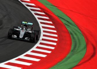 Mercedes en otro planeta en Austria, Carlos Sainz brilla