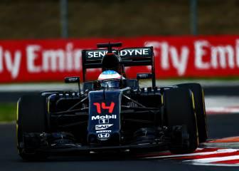 Fernando Alonso asoma de verdad en Hungría