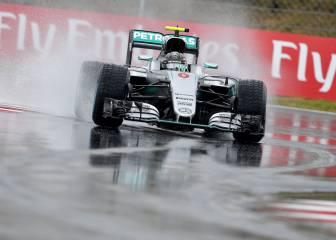 Rosberg se lleva la pole; Sainz saldrá sexto y Alonso, séptimo