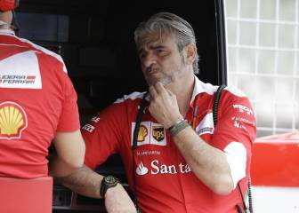Arrivabene y Ferrari estallan: '¡Dejadnos trabajar en paz!'