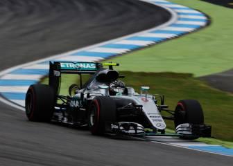 Rosberg domina en casa con Alonso rodando en el top 10