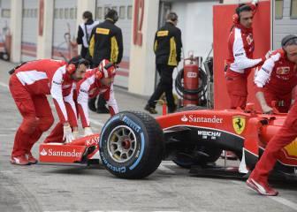 Los coches de la F-1 2017 irán 'sobre raíles', asegura Pirelli