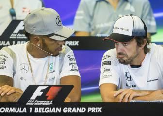Hamilton: 'La retirada de Alonso es una posibilidad real'