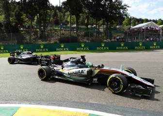 'El incidente entre Hulkenberg y Alonso en boxes, innecesario'