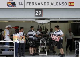 Alonso saldrá último para probar el nuevo motor Honda