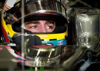 Alonso estrenó el motor Honda, pero no lo utilizará en la carrera