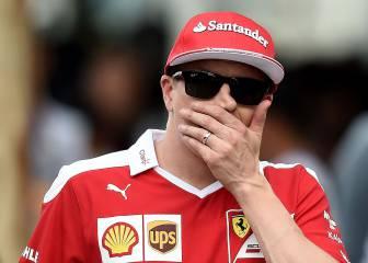 El Ferrari de Raikkonen no aceleraba... ¡por una linterna!