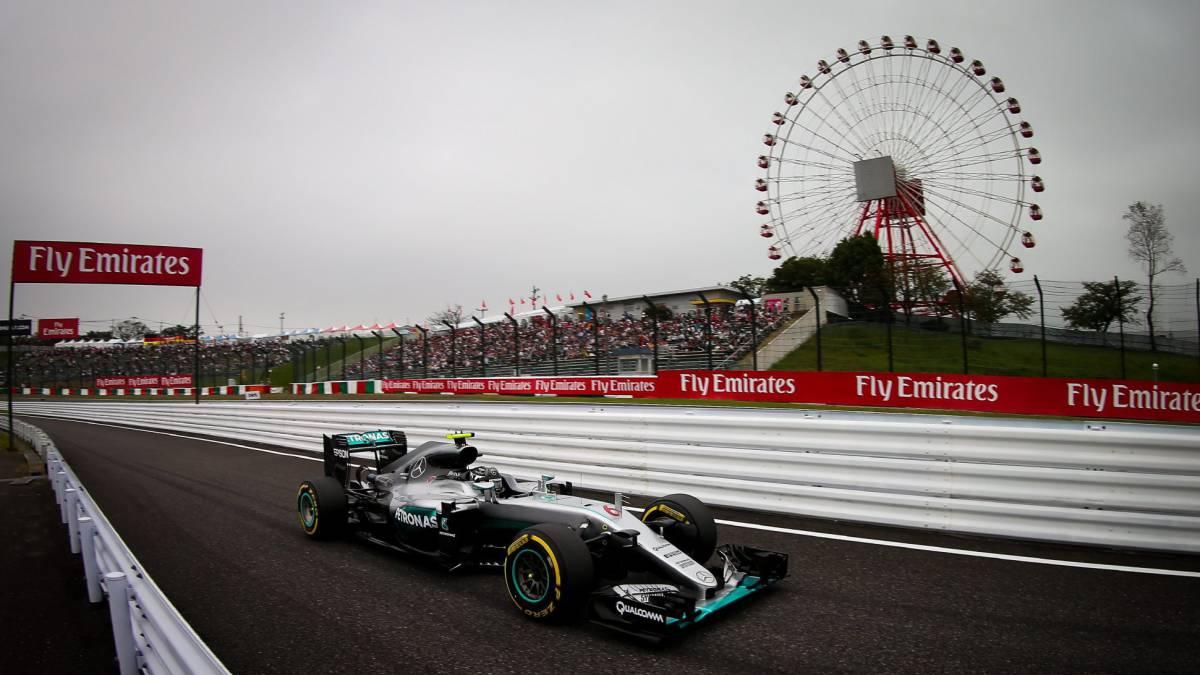 Circuito Japon : Gp japón f resumen de la carrera en el circuito de suzuka