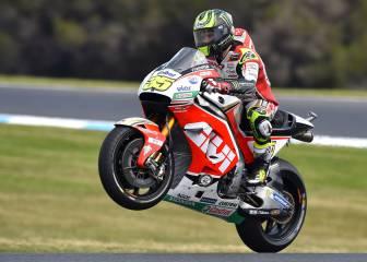 Crutchlow gana tras caída de Marc; podios de Rossi y 'Mack'