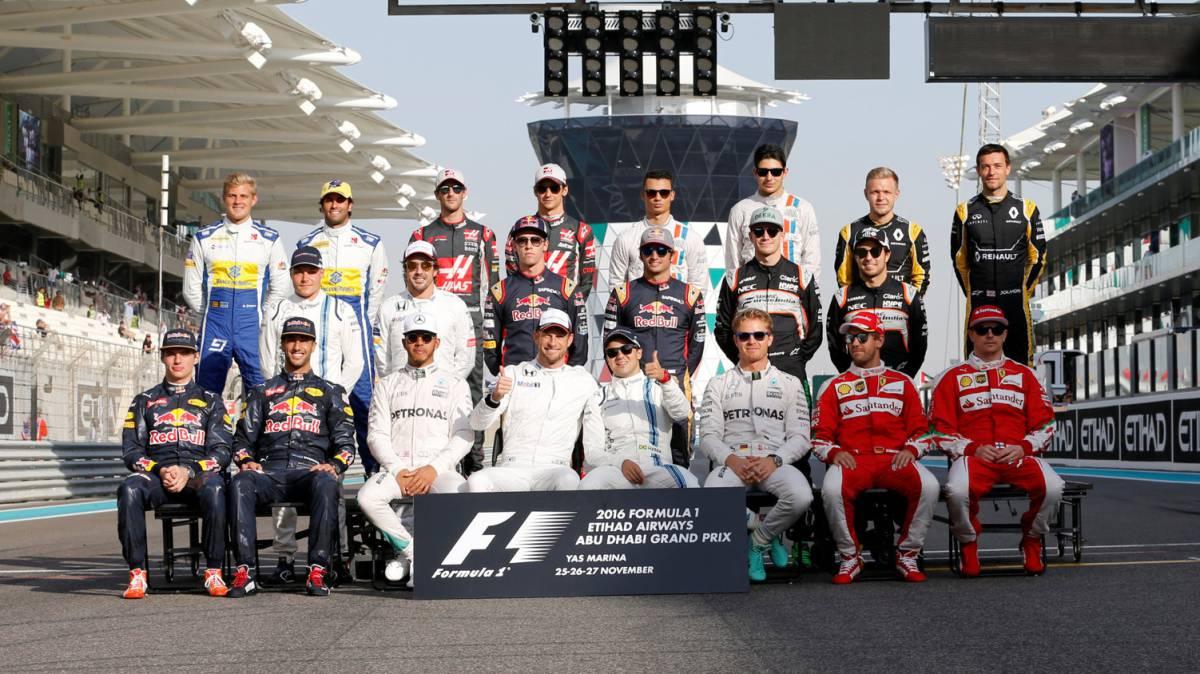 Resultado de imagen de Parrilla de Fórmula 1