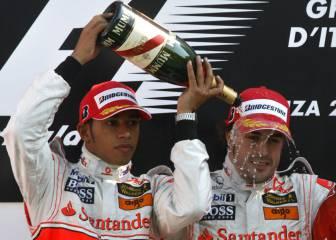 Alonso: 'No me fui de McLaren en 2007 por culpa de Hamilton'