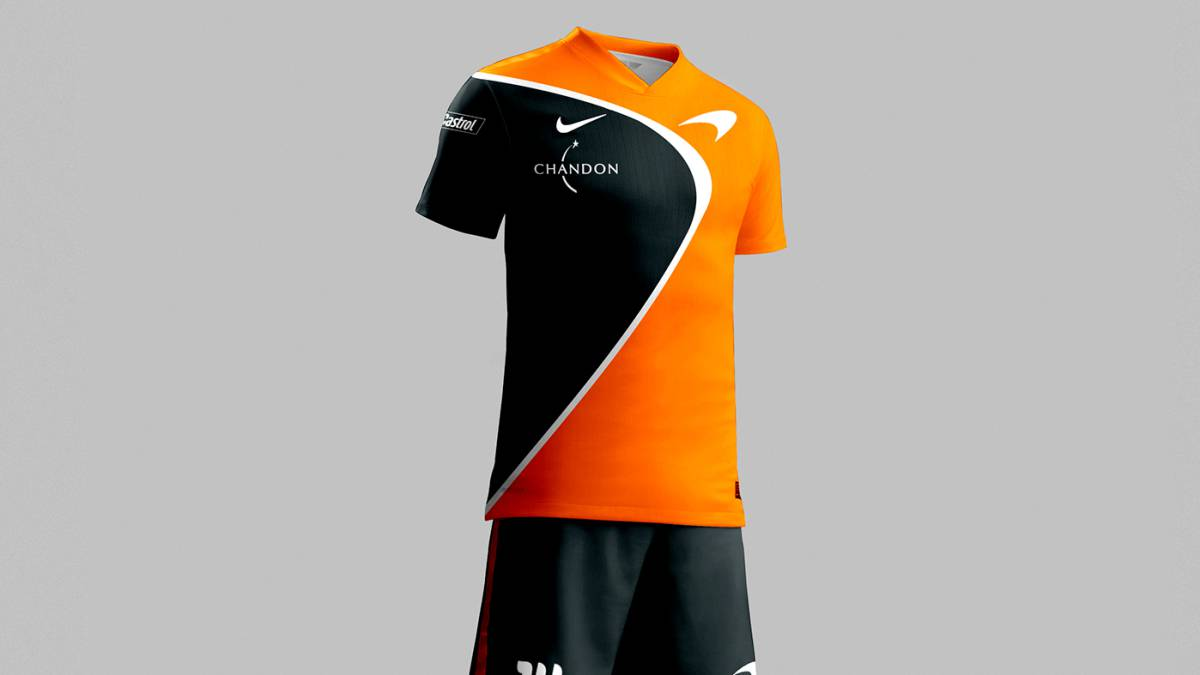 3bfd4b1a72626 FÓRMULA 1 I Así serían las camisetas de fútbol de los equipos de F1 ...