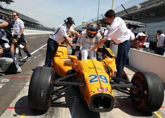 Comienza el reto de Fernando Alonso en la Indy 500