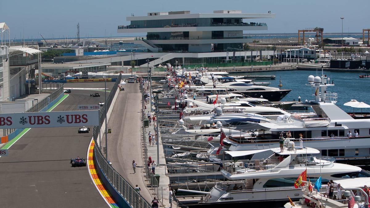 Circuito Valencia F1 : La fiscalía reclama expedientes de obras de la f en valencia as