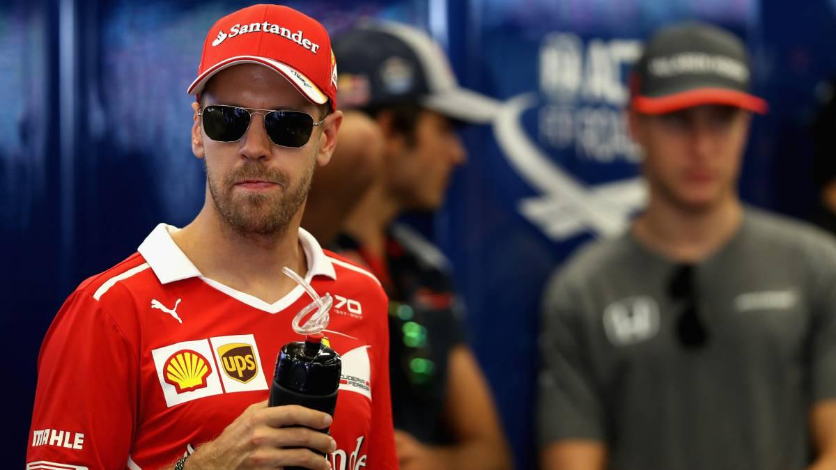 Resultado de imagen de Vettel sanción