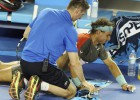 Wawrinka y la espalda detienen a Rafa Nadal en Melbourne