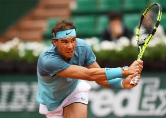 Nadal debuta en París con una victoria arrolladora en tres sets