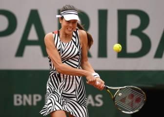 Los tenistas se visten de cebra durante Roland Garros