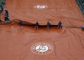 Wimbledon se solidariza con Roland Garros por la lluvia