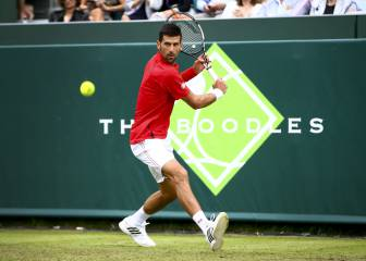 Djokovic - Federer, posible semifinal de Wimbledon