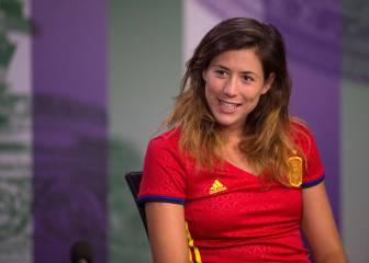 Muguruza: 'En España, si no sigues el fútbol estás muerto'