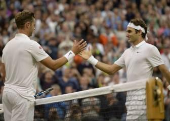 Roger Federer acaba en 85 minutos con el sueño de Willis