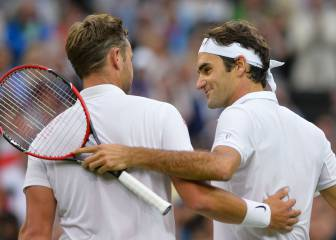Roger Federer, a Marcus Willis: 'Gracias por estos momentos'