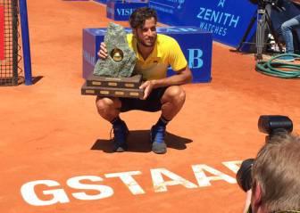 Feliciano logra en Gstaad su primer título en tierra batida