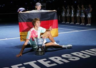 Zverev se iguala con Federer, Djokovic, Nadal y Murray