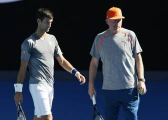 Becker: 'Djokovic no se entrenó mucho desde junio'