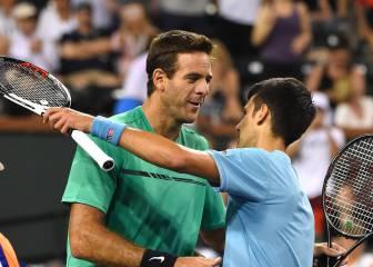 Novak Djokovic derrota a Del Potro y pasa a octavos de final