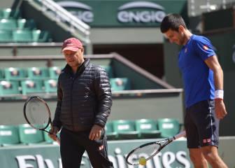 Novak Djokovic anuncia que rompe con su equipo técnico