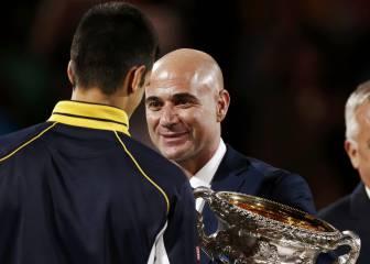 Andre Agassi podría ser el nuevo técnico de Novak Djokovic