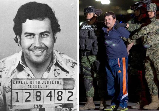 Pablo Escobar Vs Chapo >> Pablo Escobar Vs El Chapo Gúzman, ¿quién fue 'mejor' narcotraficante?