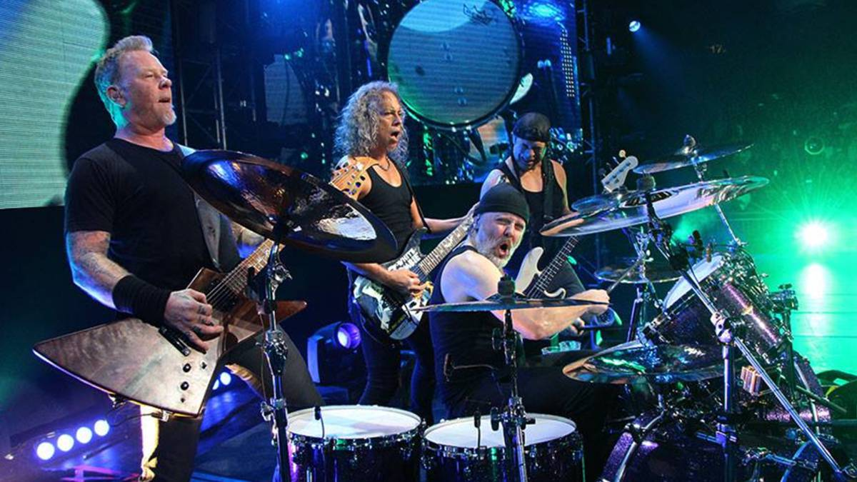 Metallica Anuncia Conciertos En Madrid Y Barcelona