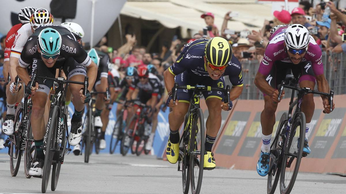 Caleb Ewan se impone al sprint