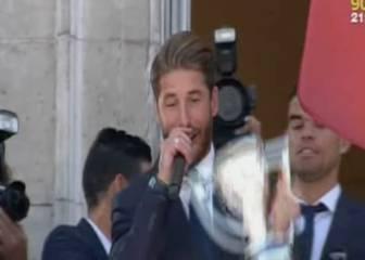 Ramos es muy grande: su broma que puso en vilo la Puerta del Sol