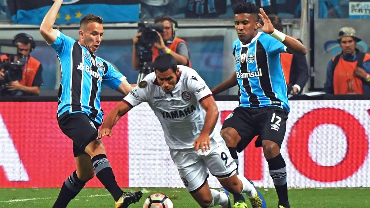 Gremio 1-0 Lanús  goles 842f07e12982a