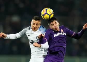 Icardi, como titular, amenaza a la Fiorentina