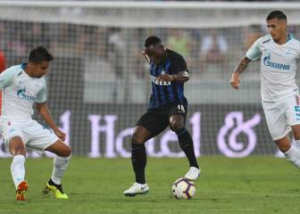Inter y Zenit empatan en el partido de los golazos