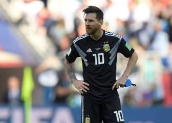 TNT: Messi deja la selección argentina de forma temporal