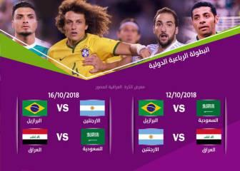 Oficial: Argentina-Irak, el 12-O
