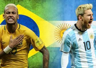 Todo lo que debe saber del Superclásico Brasil-Argentina