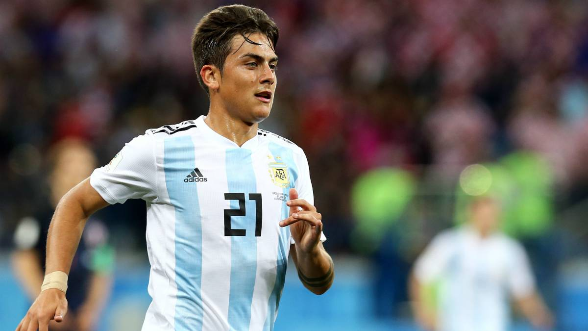 Resultado de imagen para dybala selección argentina