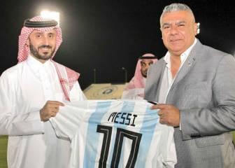 La AFA 'utiliza' a Messi en su ausencia para promocionarse